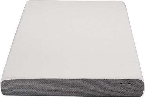 AmazonBasics 6-Inch Memory Foam Mattress - Soft Plush Feel, Twin