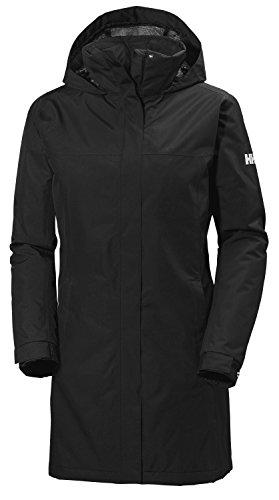 Helly Hansen Women's Aden Insulated Waterproof Windproof Breathable Coat Jacket, 990 Black, Medium