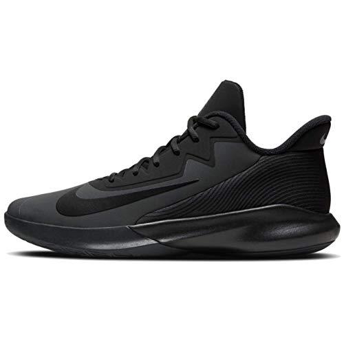 Nike Men's Precision IV Basketball Shoes, Dark Smoke Grey/Black, 13