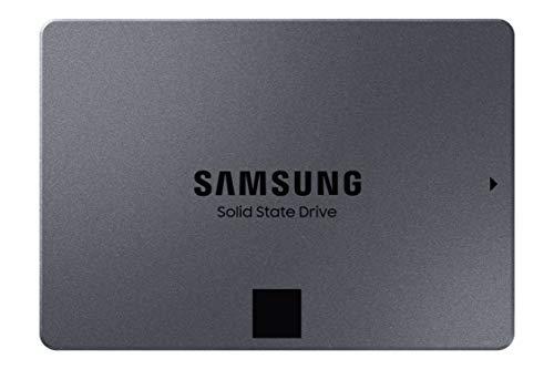 SAMSUNG 870 QVO-Series 2.5' SATA III Internal SSD Single Unit Version 1TB (MZ-77Q1T0B/AM)