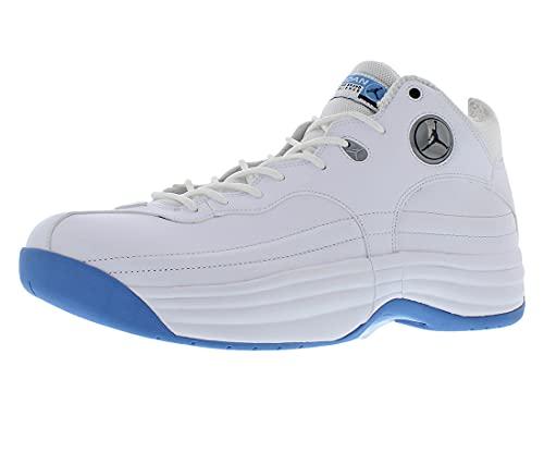 Jordan Jumpman Team 1 Mens Shoes Size 10, Color: White/Blue