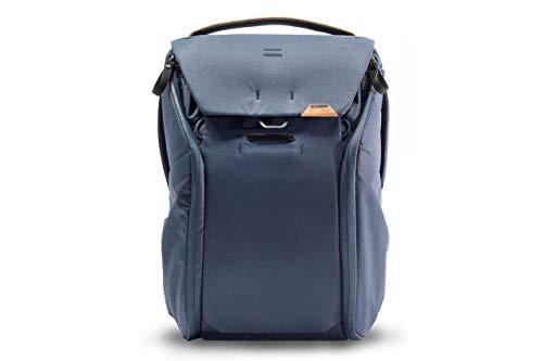 Peak Design Everyday Backpack V2 20L Midnight, Camera Bag, Laptop Backpack with Tablet Sleeves (BEDB-20-MN-2)