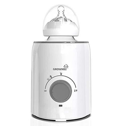Bottle Warmer, 5-in-1 Fast Baby Bottle Warmer Baby Food Heater&Defrost BPA-Free Warmer for Breastmilk and Formula
