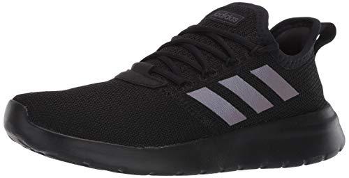 adidas Men's Lite Racer RBN Sneaker, Black/Black/Grey, 10 M US