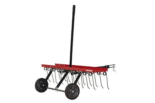 Craftsman CMXGZBF7124315 Detatcher 40-Inch Tow Lawn Dethatcher, Red