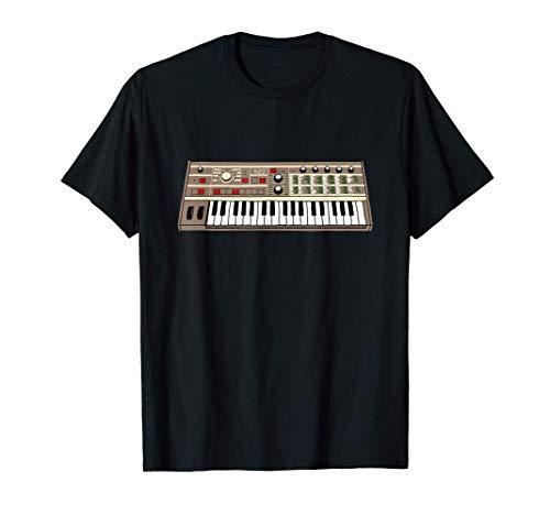 Vintage Analog Synth Keyboard Electronic Music Synthesizer T-Shirt