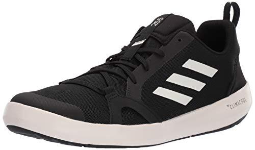 adidas outdoor mens Terrex Cc Boat Shoe, Black/Chalk White/Black, 10 US