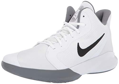 Nike Precision III Basketball Shoe, White/Black 11.5 Regular US