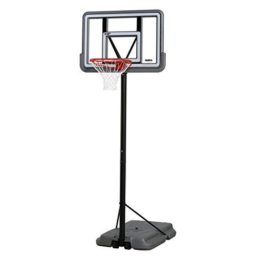 Lifetime 90690 Portable Basketball System , Gray , 44' Polycarbonate Backboard