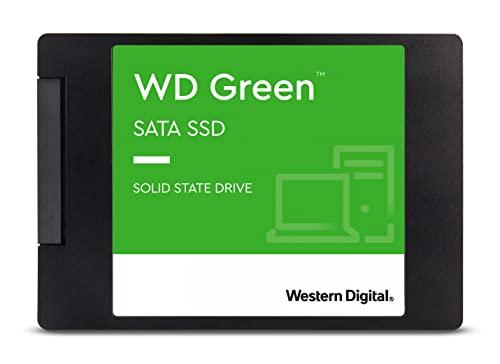Western Digital 1TB WD Green Internal PC SSD Solid State Drive - SATA III 6 Gb/s, 2.5'/7mm, Up to 550 MB/s - WDS100T2G0A