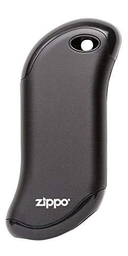 Zippo Black HeatBank 9s Rechargeale Hand Warmer, Black 9-Hour, One Size (40512)