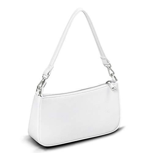 Apperloth Small Shoulder Bag with Zipper Closure Retro Classic Clutch Croc Tote HandBags for Women