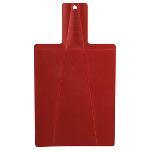 Foldable Plastic Cutting Board, 15 X 8.75 Inch Multi-purpose Plastic Foldable Cutting Board, Thick Large Plastic Chopping Board, Flexible, Tasteless, Non-slip, Dishwasher Safe Cutting Boards. (Red)
