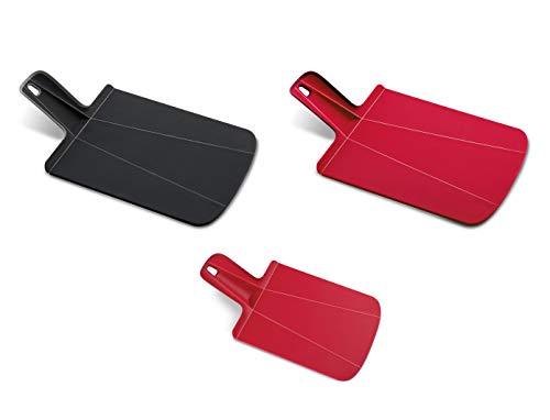 Joseph Joseph Chop2Pot Foldable Plastic Cutting Board 3-Piece, Small/Mini, (Assorted colors)