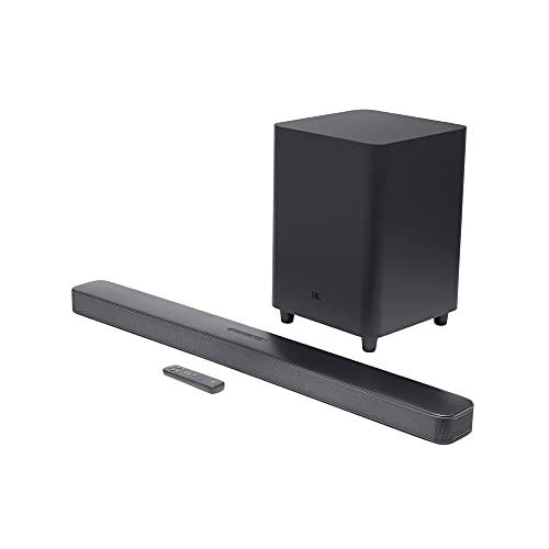'JBL Bar 5.1 - Soundbar with Built-in Virtual Surround, 4K and 10'' Wireless Subwoofer (2019 Model)', black (JBL2GBAR51IMBLKAM)