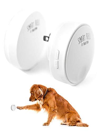 Mighty Paw Smart Bell 2.0, Dog Potty Communication Doorbell, Super-Light Press Button Doorbell (1 Activator, White)