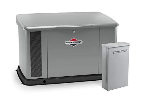 Briggs & Stratton 040621 20kW w/ 200 Amp Symphony II Switch Standby Generator, Gray