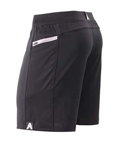 Anthem Athletics Hyperflex 9' Workout Training Gym Shorts - Black Onyx G2 - Medium