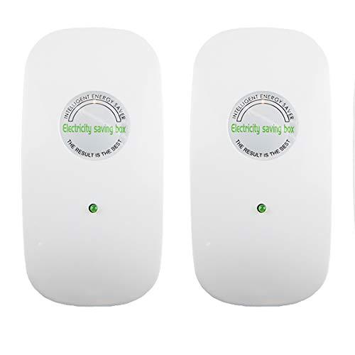 Tsinc 2021 Newest Power Save Energy Saver Electricity Saving Box Household Office Market Device Electric Smart US Plug 90V-250V 30KW (2, US Plug)