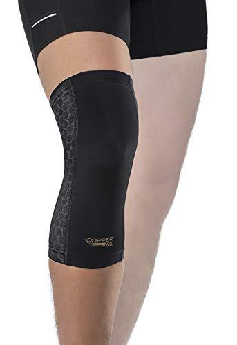 Copper Fit Freedom Knee Compression Sleeve, Black, Medium
