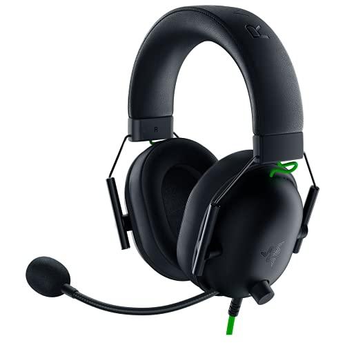 Razer BlackShark V2 X Gaming Headset: 7.1 Surround Sound - 50mm Drivers - Memory Foam Cushion - PC