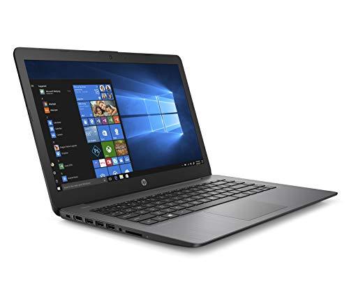 2019 HP Stream Laptop 14', Intel Celeron N4000, Intel UHD Graphics 600, 4GB SDRAM, 32GB SSD, HDMI, Win10, 14-cb164wm Brilliant Black (Renewed)
