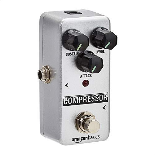 Amazon Basics Compressor Guitar Pedal - Fully Analog Circuit