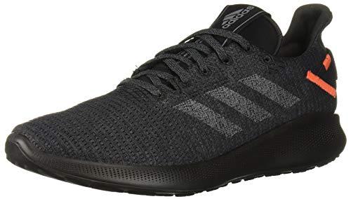 adidas Men's SenseBOUNCE + Street Running Shoe, Grey/Grey/Active Orange, 9 M US