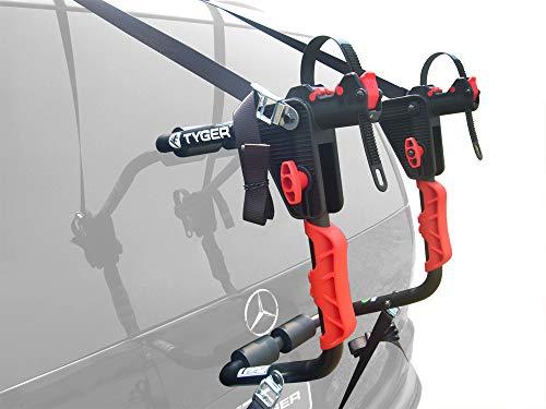 Tyger Auto TG-RK1B204B Deluxe Black 1-Bike Trunk Mount Bicycle Carrier Rack. (Fits most Sedans/Hatchbacks/Minivans and SUVs.)