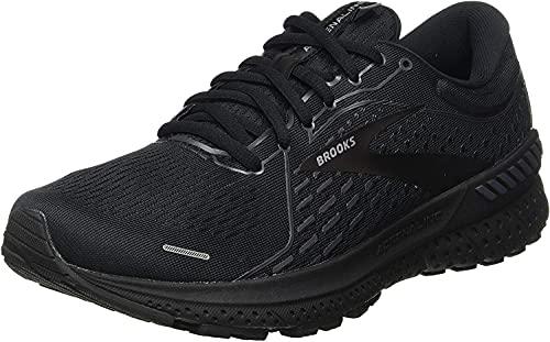 Brooks Men's Adrenaline GTS 21, Black/Black, 12 Medium