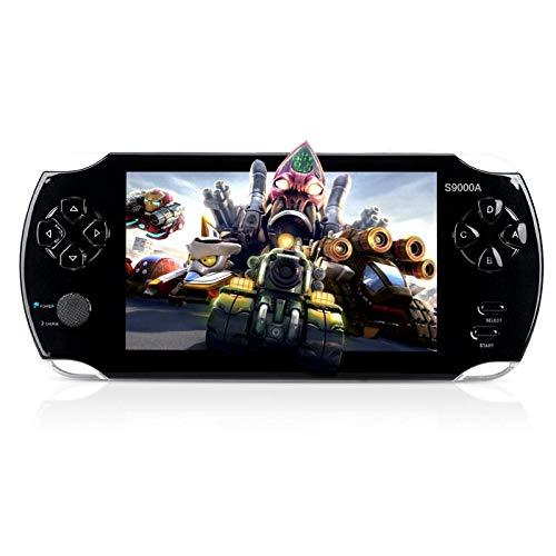 MUS RUN Handheld Game Console, Portable Video Game Console 16GB 5 'Screen 3000 Classic Games, Support / GBA / GBC / NES / BIN / SMC