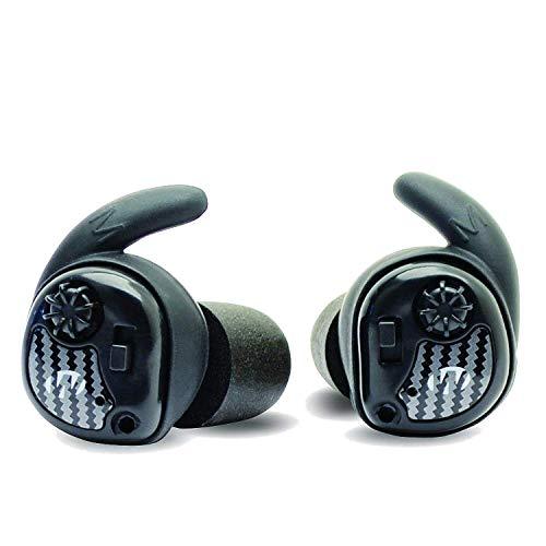 Walker's Silencer Digital Earbuds, Sound Activated Compression, NRR25dB, Dynamic Wind Reduction,black