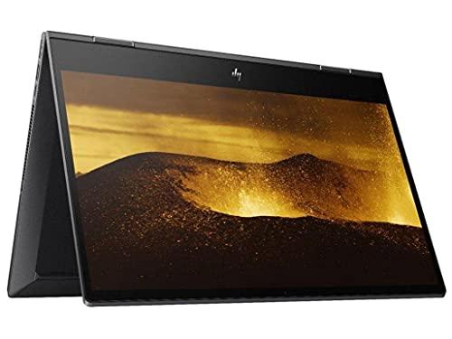 2021 Newest HP Envy x360 2-in-1 Laptop, 15.6' FHD Touchscreen, AMD Ryzen 5 4500U 8-Core Processor, 16GB RAM, 512GB SSD, Backlit Keyboard, Wi-Fi, Windows 10 Home, KKE Bundle, Stylus Pen Included, Black