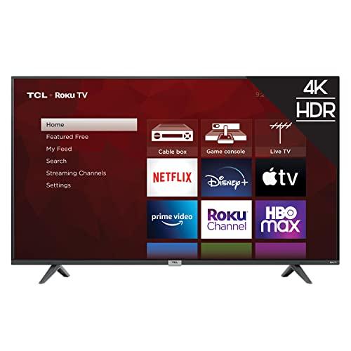 TCL 55' Class 4-Series 4K UHD HDR Smart Roku TV – 55S435, 2021 Model
