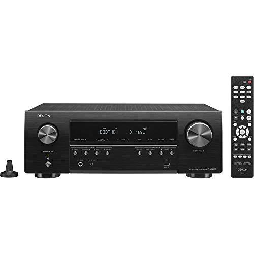 Denon AV Receiver Audio & Video Component Receiver BLACK (AVRS540BT) (Renewed)