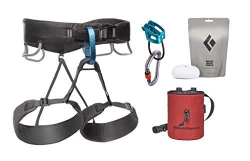 Black Diamond Equipment - Men's Momentum Harness Package - Anthracite - Medium