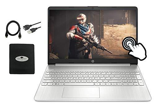 2021 Newest HP 15.6' FHD IPS Touchscreen Laptop, 10th Gen Intel i7-1065G7(Up to 3.9GHz), 16GB RAM, 512GB PCIe SSD, Intel Iris Plus Graphics, Webcam, USB-A&C, HDMI, WiFi, Win10, w/GM Accessories