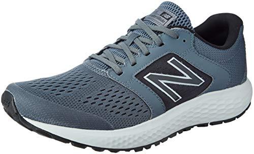 New Balance Men's 520 V5 Running Shoe, Lead/Light Aluminum, 12 M US