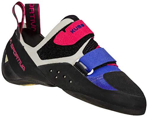 La Sportiva Women's Kubo Climbing Shoes, Royal/Love Potion, 35.5