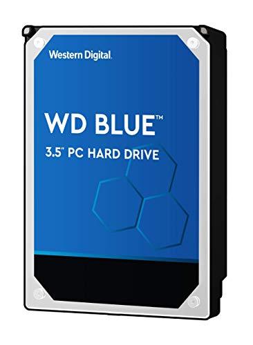 WD Blue 2TB PC Hard Drive - 5400 RPM Class, SATA 6 Gb/s, 256 MB Cache, 3.5' - WD20EZAZ