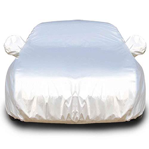 QERFSD Plus Velvet Waterproof Car Cover Compatible with DS Automobiles DS3 Cabrio DS3 Crossback DS4 Crossback DS5 DS7 Crossback Sun Protection Against Rain Snow Windy (Color : Black, Size : DS3)