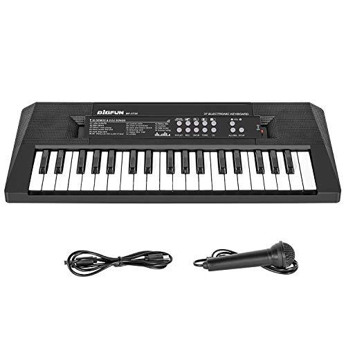 Shayson Piano for Kids, Electronic Keyboard Piano 37 Keys, Kids Piano Keyboard with Microphone, Multifunctional Keyboard Piano Music Educational Toys