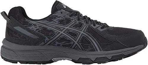 ASICS Men's Gel-Venture 6 Running Shoe, Black/Phantom/Mid Grey, 11 4E US