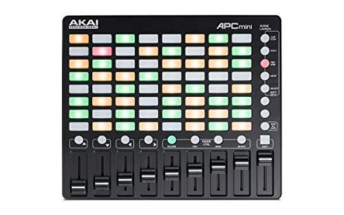 Akai Professional APC Mini | Compact USB Bus-Powered 64-Button Clip Launcher / MIDI Controller For Ableton Live