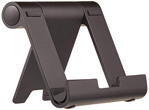 Amazon Basics Multi-Angle Portable Stand for iPad Tablet, E-reader and Phone - Black
