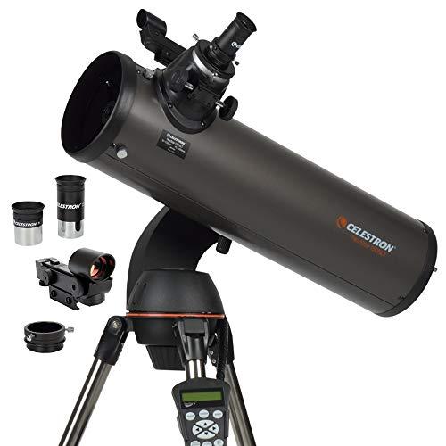 Celestron - NexStar 130SLT Computerized Telescope - Compact and Portable - Newtonian Reflector Optical Design - SkyAlign Technology - Computerized Hand Control - 130mm Aperture