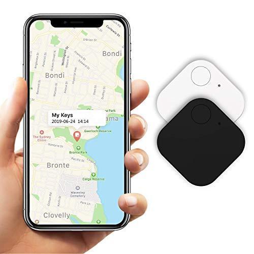 Kimfly Key Finder Smart Tracker 2Pack,Item Finder Phone Finder Bluetooth Tracker Smart Tag Gen II