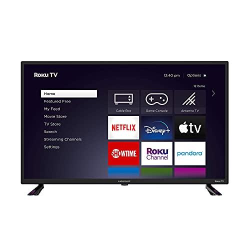 Element Electronics E1AA32R-G 32″ 720P HD Roku TV (Renewed)