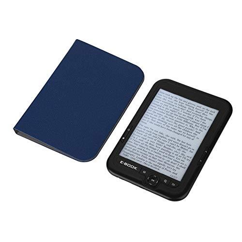 Pomya E-Book Reader E-Ink 6 inch E-Reader 800x600 Resolution Display 300DPI Blue Cover 16GB 8GB 4GB (4G Black)