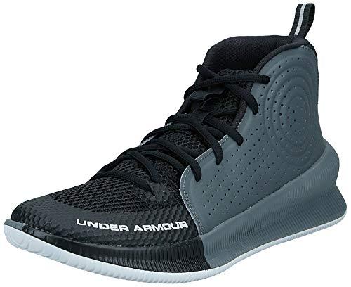 Under Armour Men's Jet 2019 Basketball Shoe Running, Black (001)/Pitch Gray, 7